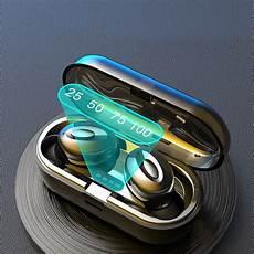 Bakeey Bluetooth Power Display Earphone Noise bakeey xg15 digital power display tws bluetooth 5 0