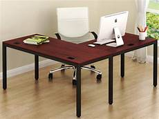 corner desk home office furniture shw home office 55 quot x60 quot large l shaped corner desk black