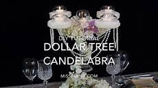 dollar tree inspired candelabra centerpiece diy elegant