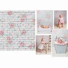 3x5ft Vinyl Brick Wall Ruins Printing by 3x5ft Wall Flower Brick Photography Background Baby