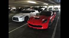 c7 z06 corvette vs godzilla nissan gt r both are 2016