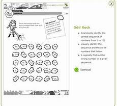 free and cool math worksheets for upper kindergarten kids ukg 4 find the man out