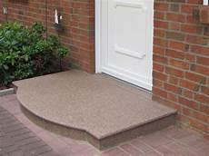 podest hauseingang granit eingangspodest au 223 en gestalten und planen mit granit und
