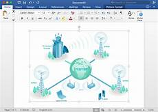 how to create an ms visio telecommunication network diagram network diagram software lan