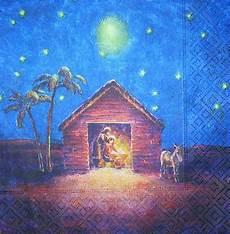 3879 weihnachten krippe serviette www susipuppis