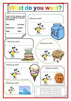 what do you want worksheet free esl printable worksheets made by teachers