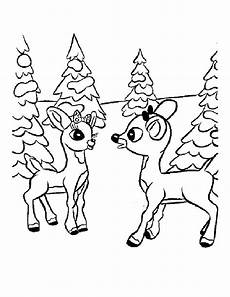 Malvorlagen Weihnachten Rentiere Rudolph Coloring Pages Team Colors