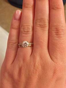 pave engagement ring with plain wedding band pave wedding bands wedding rings solitaire