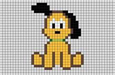 mickey pixel pluto pixel brik