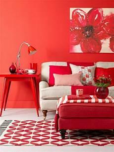 rote wandfarbe wandfarben bilder 40 inspirierende beispiele