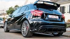Mercedes A45 Amg Performance Exhaust Exterior Sound