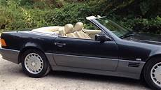 Mercedes 300 Sl Auto R129 Black 1990 Classic Car