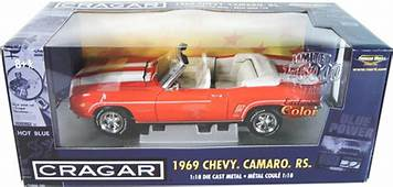 1969 Chevy Camaro RS 350 Convertible  Hugger Orange Ertl
