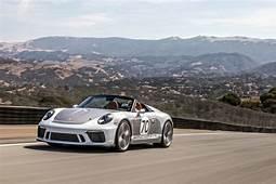 Porsche AG 911 Speedster Concept Fascinates US