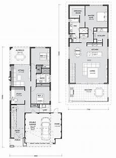 2 storey house plans for narrow blocks bayview key features everyday living upstairs with chef