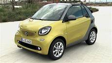 smart fortwo cabrio smart fortwo cabrio black to yellow and graphite grey