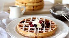 belgian waffle recipe how to make waffles youtube