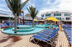 pool on carnival sensation cruise ship cruise critic