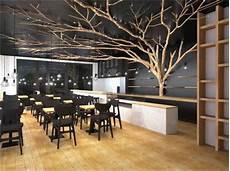 arbre interieur deco driftwood tree for a restaurant decoration