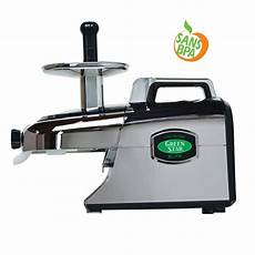 Extracteur De Jus Greenstar Elite Chrom 233 De Tribest