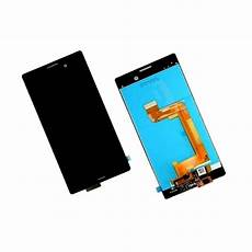 lcd with touch screen for sony xperia m4 aqua dual 16gb black by maxbhi com