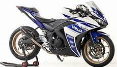Modifikasi R25 by Modifikasi Motor Yamaha Yzf R25 Simple Sangar Modifikasi