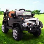 12V JEEP Power Wheel Kids Car Ride On Cars Toys Battery