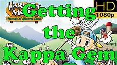 harvest moon friends of mineral town gba getting the kappa