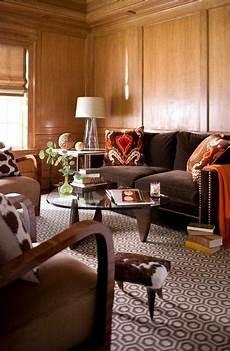 wohnzimmer modern braun black and brown colors modern interior design trends