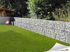 Tendance Gabion Petit Mur De S 233 Paration Jardins Mur En