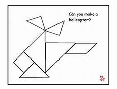 Tangram Kinder Malvorlagen Word Tangram Activities For Kindergarten Helicopter