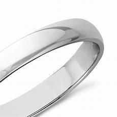 classic wedding ring in 9k white gold 3mm the diamond channel johannesburg classic