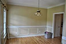 chair rail ideas molding dining room makeover dining