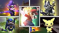 Brawl Malvorlagen Xp Smash Bros Legacy Xp All Characters S Smash