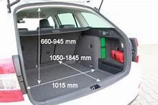 Skoda Octavia Kofferraumvolumen - adac auto test skoda octavia combi 1 6 tdi greenline