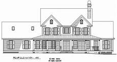 arbordale house plan rear elevation of the arbordale house plan number 452