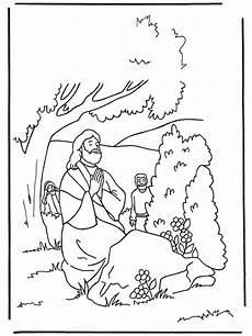 Ausmalbilder Ostern Religion Kinder Beten Malvorlage Coloring And Malvorlagan