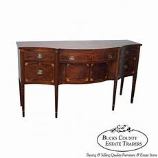 sideboard vintage look antique mahogany federal style inlaid sideboard by