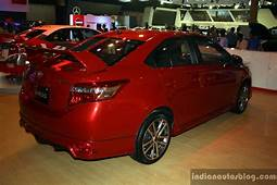 Toyota Vios TRD Sportivo Rear Right Three Quarter At The