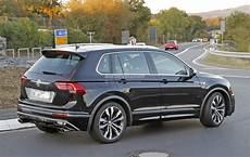 2018 Volkswagen Tiguan R Spotted At Nurburgring Not