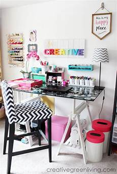 craft room home office tour makeover reveal creative