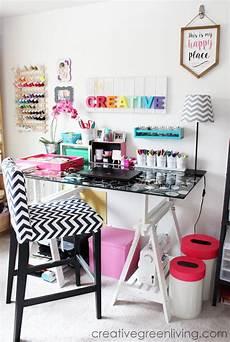 craft room makeover inspiration 24 ideas gold