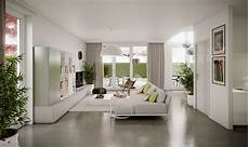 bright living room on the ground floor