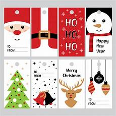 merry christmas gifts tags for winter holidays vector vector premium download