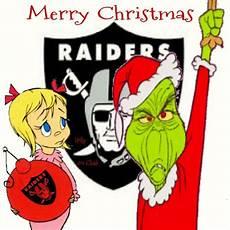 how the raiders stole christmas raiders merry merry christmas