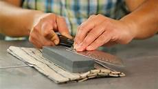 how to sharpen kitchen knives at home sharpen and care for your kitchen knives cnet