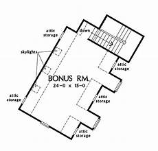 silvergate house plan bonus room floor plan of the silvergate house plan