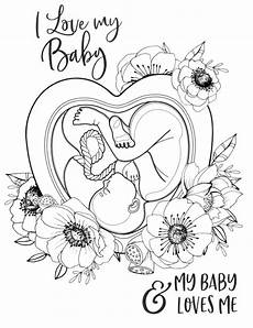 pregnancy birth affirmation coloring pages