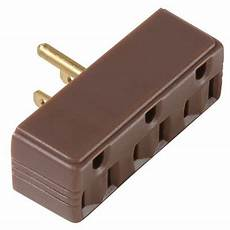 6 pass seymour 697cc20 15a 125v brown plug in 3 way electrical outlet adapters ebay
