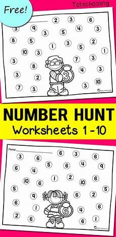 free printable number recognition worksheets printable